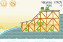 Angry Birds Danger Above 3 Star Walkthrough Level 8-11