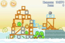 Angry Birds Danger Above 3 Star Walkthrough Level 8-12