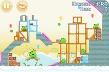 Angry Birds Danger Above 3 Star Walkthrough Level 8-15