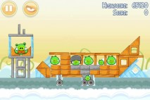 Angry Birds Danger Above 3 Star Walkthrough Level 8-2
