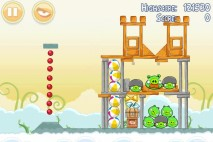 Angry Birds Danger Above 3 Star Walkthrough Level 8-3