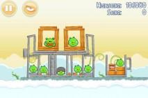 Angry Birds Danger Above 3 Star Walkthrough Level 8-4