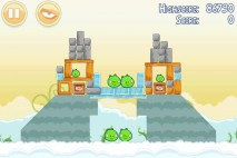 Angry Birds Danger Above 3 Star Walkthrough Level 8-5