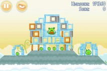 Angry Birds Danger Above 3 Star Walkthrough Level 8-6