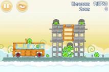 Angry Birds Danger Above 3 Star Walkthrough Level 8-7