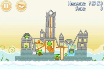 Angry Birds Danger Above 3 Star Walkthrough Level 8-9