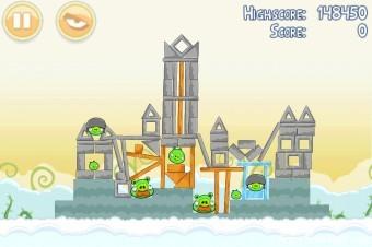 Angry Birds Danger Above 3 Star Walkthrough Level 8-9