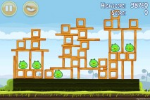 Angry Birds Mighty Hoax 3 Star Walkthrough Level 4-12