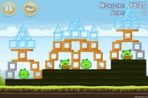 Angry Birds Mighty Hoax 3 Star Walkthrough Level 4-15