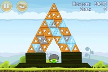 Angry Birds Mighty Hoax 3 Star Walkthrough Level 4-17