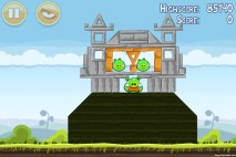 Angry Birds Mighty Hoax 3 Star Walkthrough Level 4-18