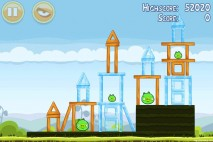 Angry Birds Mighty Hoax 3 Star Walkthrough Level 4-19