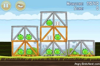 Angry Birds Mighty Hoax 3 Star Walkthrough Level 4-20