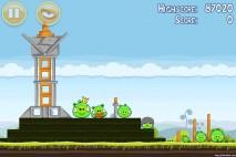 Angry Birds Mighty Hoax 3 Star Walkthrough Level 4-21