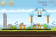 Angry Birds Mighty Hoax 3 Star Walkthrough Level 4-3