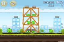 Angry Birds Mighty Hoax 3 Star Walkthrough Level 4-5