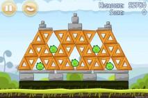 Angry Birds Mighty Hoax 3 Star Walkthrough Level 4-6