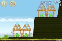 Angry Birds Mighty Hoax 3 Star Walkthrough Level 4-7