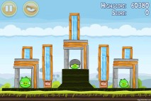Angry Birds Mighty Hoax 3 Star Walkthrough Level 4-8