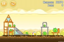 Angry Birds Mighty Hoax 3 Star Walkthrough Level 5-1