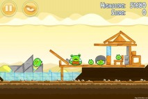 Angry Birds Mighty Hoax 3 Star Walkthrough Level 5-10