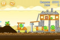 Angry Birds Mighty Hoax 3 Star Walkthrough Level 5-11