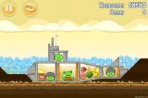 Angry Birds Mighty Hoax 3 Star Walkthrough Level 5-13