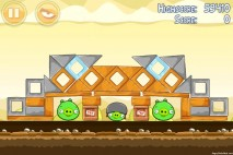 Angry Birds Mighty Hoax 3 Star Walkthrough Level 5-14