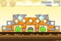 Angry Birds Mighty Hoax 3 Star Walkthrough Level 5-14