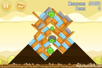 Angry Birds Mighty Hoax 3 Star Walkthrough Level 5-15