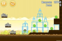 Angry Birds Mighty Hoax 3 Star Walkthrough Level 5-16