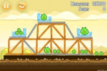 Angry Birds Mighty Hoax 3 Star Walkthrough Level 5-18