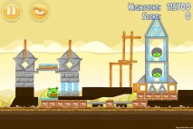 Angry Birds Mighty Hoax 3 Star Walkthrough Level 5-19