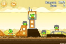 Angry Birds Mighty Hoax 3 Star Walkthrough Level 5-2