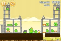 Angry Birds Mighty Hoax 3 Star Walkthrough Level 5-21