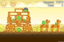 Angry Birds Mighty Hoax 3 Star Walkthrough Level 5-4