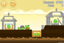 Angry Birds Mighty Hoax 3 Star Walkthrough Level 5-5