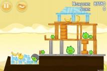 Angry Birds Mighty Hoax 3 Star Walkthrough Level 5-6