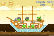 Angry Birds Mighty Hoax 3 Star Walkthrough Level 5-8