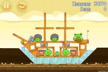 Angry Birds Mighty Hoax 3 Star Walkthrough Level 5-8