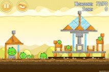 Angry Birds Mighty Hoax 3 Star Walkthrough Level 5-9