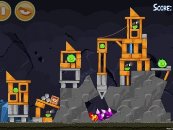 Angry Birds Mine And Dine Level 15-1