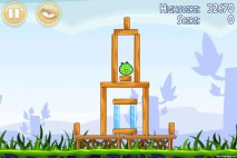 Angry Birds Poached Eggs 3 Star Walkthrough Level 1-1