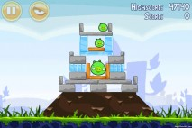 Angry Birds Poached Eggs 3 Star Walkthrough Level 1-13