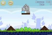 Angry Birds Poached Eggs 3 Star Walkthrough Level 1-14