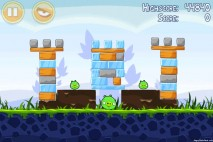 Angry Birds Poached Eggs 3 Star Walkthrough Level 1-15