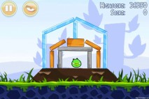 Angry Birds Poached Eggs 3 Star Walkthrough Level 1-4