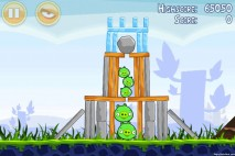 Angry Birds Poached Eggs 3 Star Walkthrough Level 1-5