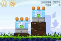 Angry Birds Poached Eggs 3 Star Walkthrough Level 1-6