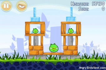 Angry Birds Poached Eggs 3 Star Walkthrough Level 1-9